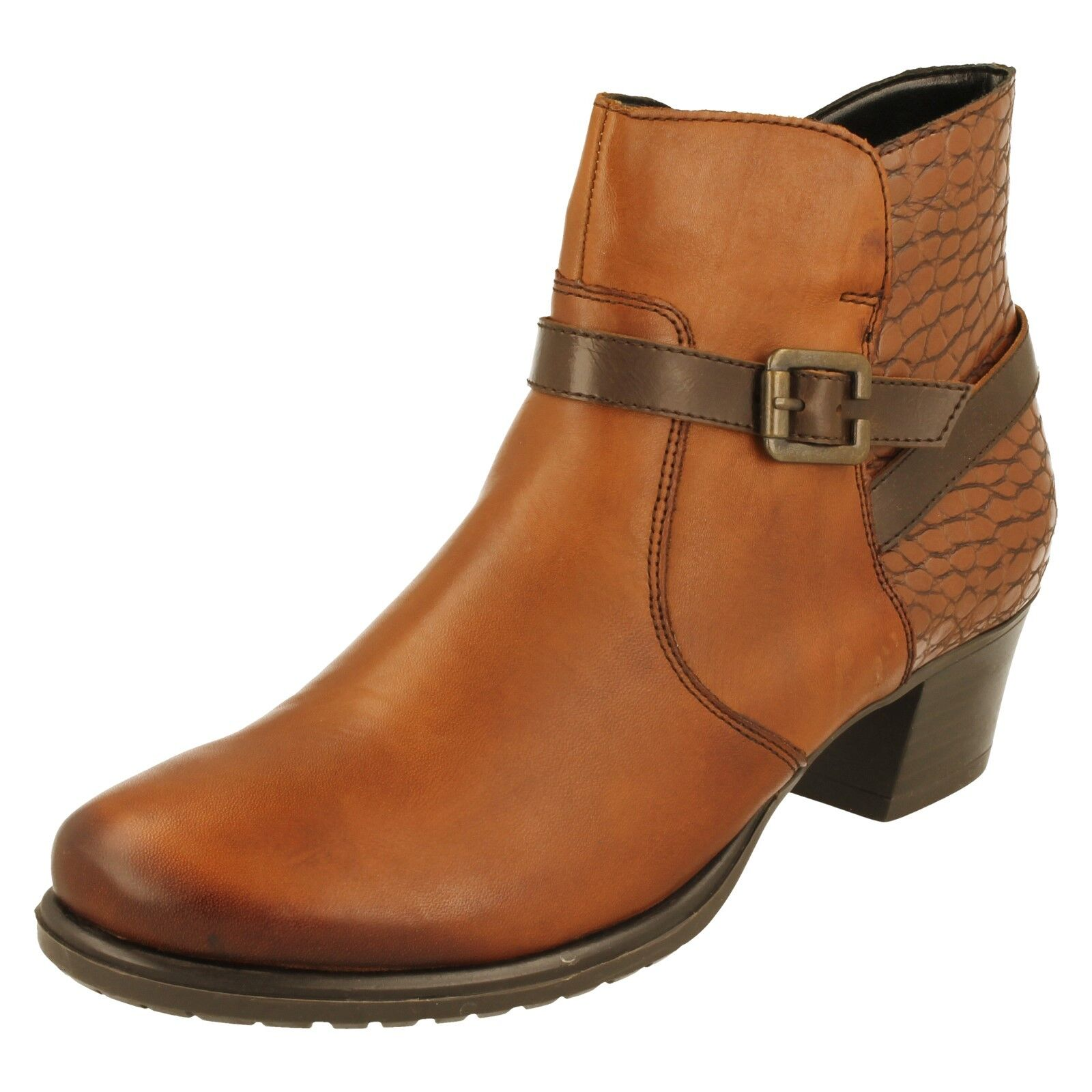 mujer Remonte botas - D3186
