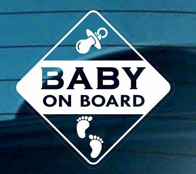 Il Migliore Baby A Bordo Adesivo Segno Decalcomania Auto Riutilizzabili Finestra Sicurezza Impronte Varning-
