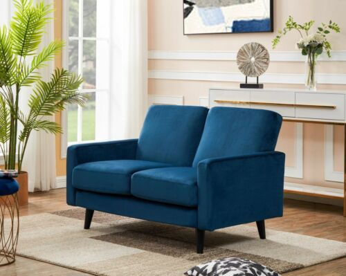 FREE NEXT DAY DELIVERY Velvet Compact Sofas Tampa 2 Seaters