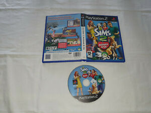 jeu sony ps2 playstation 2 sans notice SIMS 2 ANIMAUX CIE