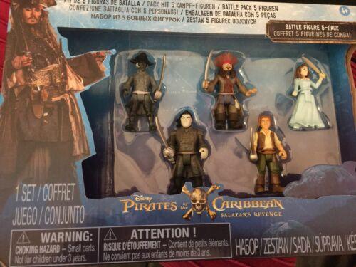 Pirates of the Caribbean Salazar's Revenge Battle Figure 5 Figure pack