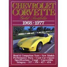Chevrolet Corvette Gold Portfolio 1968-1977 book paper