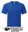 thumbnail 9 - Mens Plain Quality Fruit of the Loom Weight Cotton Round Neck T Shirt Small- 5XL