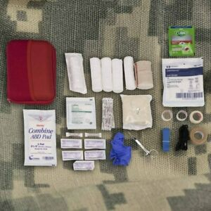 IFAK, Individual First Aid Kit, Advanced, Trauma Wound Care Kit, 46 Pieces