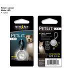 Nite Ize PetLit White LED Lime Paw Pet Dog Cat Collar Illumination Safety Light