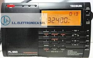 TECSUN PL-660 RICEVITORE  PORTATILE ALL MODE 1.7-30Mhz + AIRBAND ref  330001