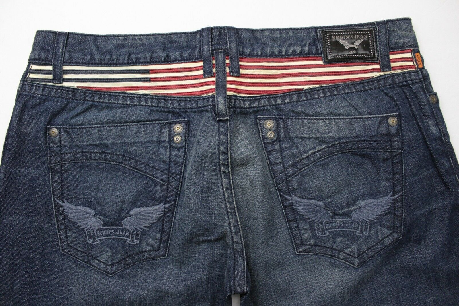 Robin's Jean U.S. Stripes - Size 40