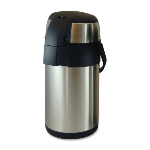 Stainless Steel 11960 Genuine Joe Vacuum Pump Pot 2.5L