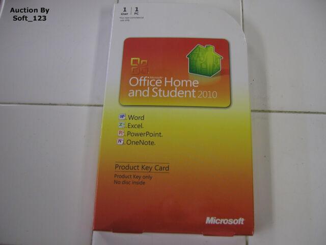 microsoft office home 2010 keys
