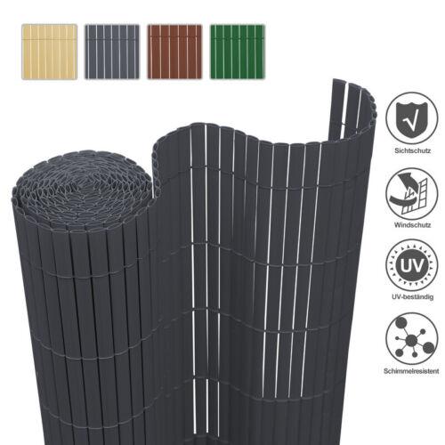 PVC Sichtschutzmatte Gartenzaun Sichtschutzzaun Sichtschutz