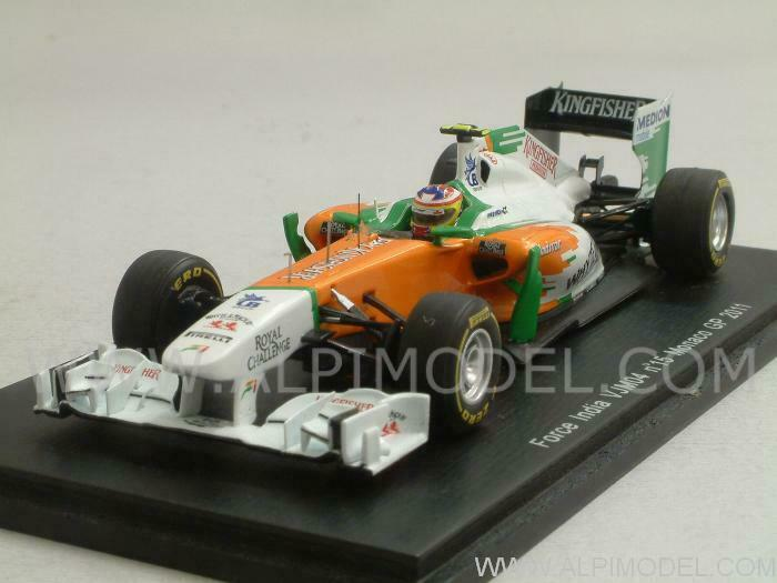 Force India GP Monaco 2011 Paul Di Resta 1 43 SPARK S3025