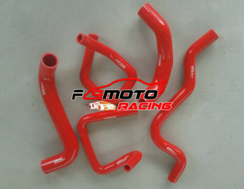 Silicone Radiator Hose For Ford Falcon BA BF XR6 Turbo 4.0L 2002-2008 06 07 RED