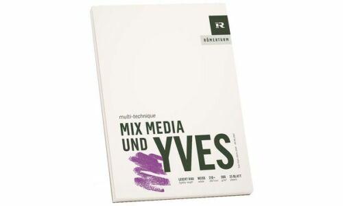 "RÖMERTURM Künstlerblock /""MIX MEDIA UND YVES/"" DIN A4"
