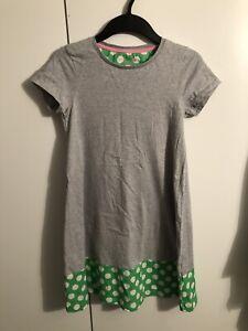 Mini Boden Madchen Kleid Grau Grun Gepunktet Gr 11 12 Jahre 152 Ebay