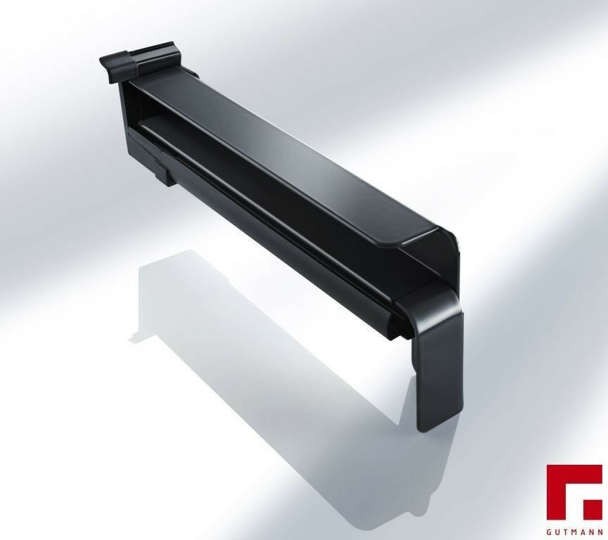 Aluminium Fensterbank weiß für WDVS inkl. Aluminium Aluminium Aluminium Gleitabschluss d410e3