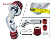 BCP RED 2008-2014 Lancer 2.0L 2.4L 4-Cyl Racing Ram Air Intake +Dry Filter