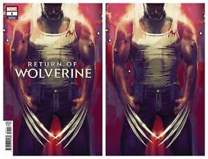 Return-Of-Wolverine-1-Stephanie-Hans-Variant-VIRGIN-amp-TRADE-DRESS-2018-NM