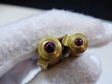 vintage Fountain Pen pencil 14k gold nibs 583 WITH RUBIES MADE IN USSR ! (No.Б)