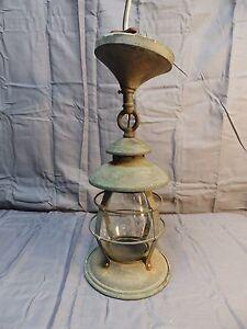 antique copper porch ceiling lantern light fixture. Black Bedroom Furniture Sets. Home Design Ideas