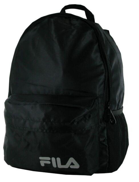 Fila Men s Backpack Rucksack School Bag Black - Tolly for sale ... 86ec7b0cebaf1