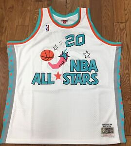 san francisco bf60c e3064 Details about 1996 NBA All Star Game Gary Payton Mitchell & Ness Jersey
