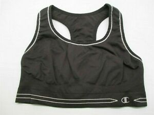 CHAMPION-Women-039-s-Size-S-Yoga-Athletic-Workout-Running-Black-Sports-Bra