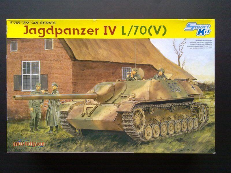 DRAGON 6397 6397 6397 1/35 JAGDPANZER IV WITH KAIZEN TRACKS AND LIONMARC METAL GUN BARREL | Insolite  371e13