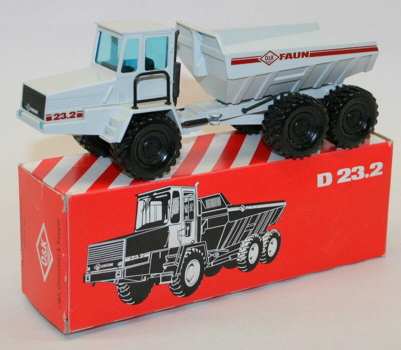 NZG 1 50 Scale Diecast Metal Model - 301 - O&K Faun D 23.2 Dump Truck