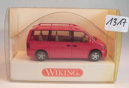 288 03 23 Mercedes Benz V-Klasse Bus rot OVP #1317 Wiking 1//87 Nr