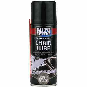 1 X 200ml Motorcycle Cycle Chain Lube Lubricate Oil Spray