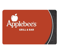 $25 Applebee's Gift Card & get a bonus $5 code ($30 value)