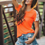 Summer-Women-039-s-Lace-Shoulder-T-Shirt-Short-Sleeve-Loose-Tops-Casual-Blouse thumbnail 1