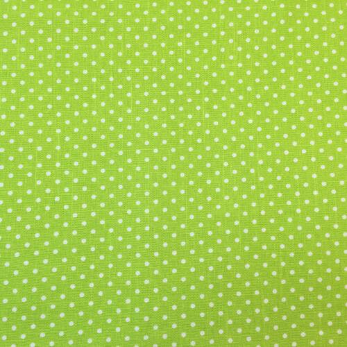 CANVAS Polka Dot 100/% cotton  fabric  112cm wide sold per 1//2 metre