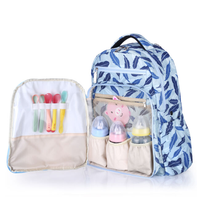 5ec6a78f2dca Baby Nappy Bag Mummy Diaper Backpack with Thermal Insulation Diaper  Stroller Bag