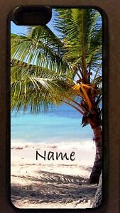 Details About Tropical Island Palm Tree Beach Sand Cell Smart Phone Case Cel Cover For Mobile