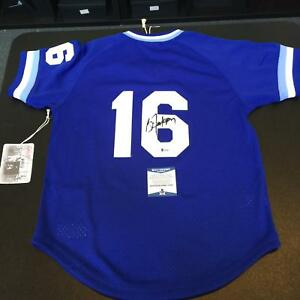 los angeles b8331 864cc Details about Bo Jackson Signed Authentic Mitchell & Ness Kansas City  Royals Jersey Beckett