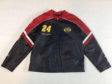 Unisex NASCAR Jeff Gordon Wilsons Leather Chase Authentics #24 Jacket - Large