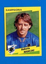 CALCIATORI PANINI 1996-97 Figurina-Sticker n. 317 - MANCINI - SAMPDORIA -New
