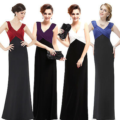 Ever Pretty Womes Long Evening Formal Cocktail Prom Gown Dress 09051 UK Sz 6-18