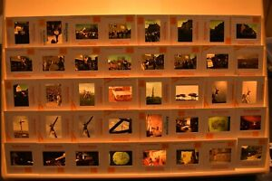 Vintage-35mm-Slides-Lot-of-120-People-animals-military