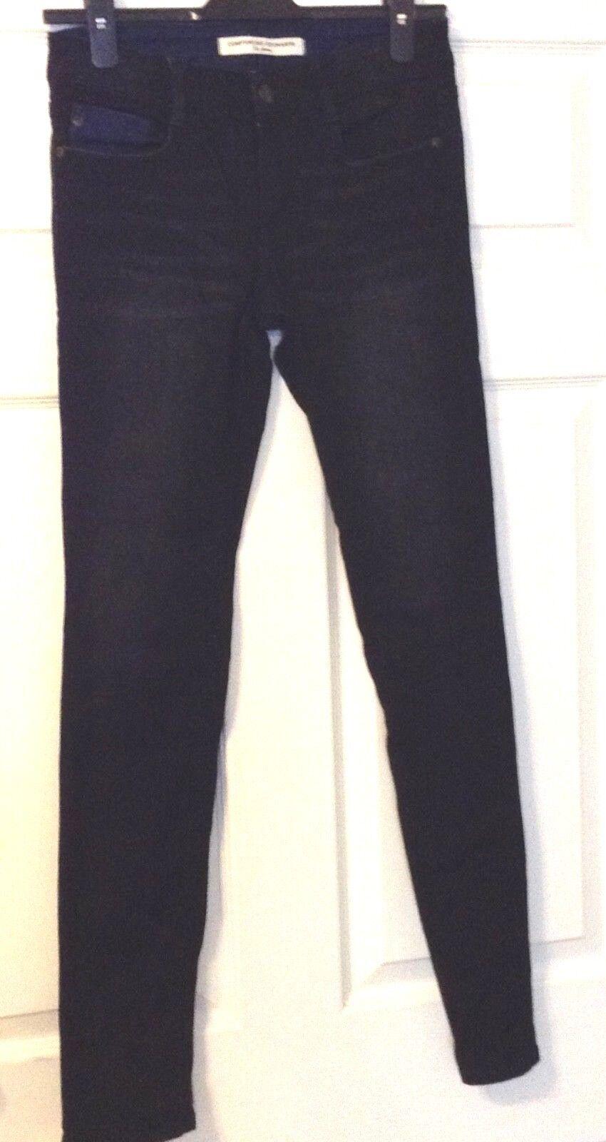 Comptoir DES cootonnies pantaloni per le donne Les Les Les Jeans-colore Nero-Taglia 36 e90e85