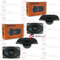 4 X Brand Memphis 4 X 6 Inch 2-way Car Audio Speakers 4 X 6