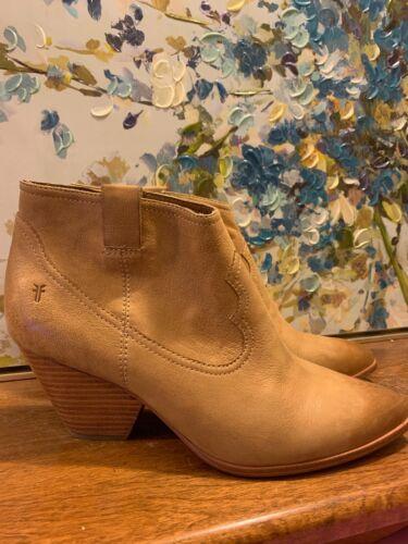 FRYE Reina leather bootie 11