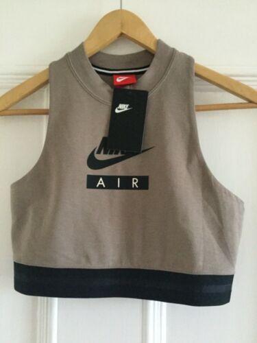 maniche Air 206 donna 893068 piccola Maglietta senza da Crop Nike 5qxxP6tg