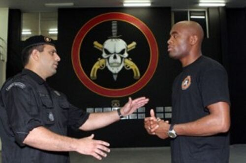 Original BOPE Tropa De Elite Brazil Special Forces Military Black T-shirt Tee