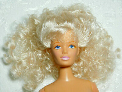 12 Inch Barbie Size Asian Fashion Doll Ponytail Hair Nude Great for OOAK