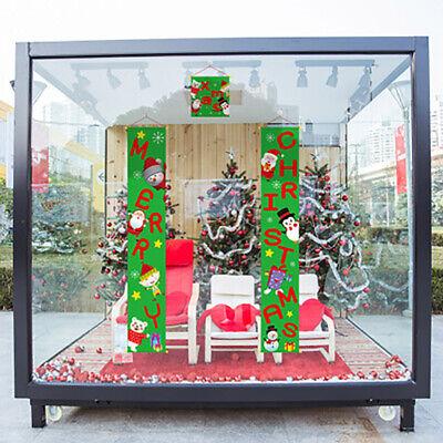 Weihnachtsdekorations-frohe Weihnacht-Fahnen-Flaggen-Couplet-Tür-Vorhang-Fahnen