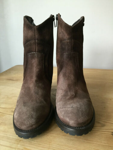 Stivaletti Ladies Uk3 Marrone in Stonefly Suede Eur36 zzq07wrp