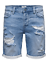 Pantaloncino-Only-amp-Sons-Uomo-Jeans-ONSPLY-REG-BLUE-DENIM-SHORT miniatura 1