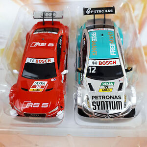 carrera go dtm auto set audi rs a5 vs amg mercedes slotcar. Black Bedroom Furniture Sets. Home Design Ideas